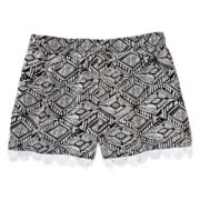 Arizona Lace-Trimmed Soft Shorties - Girls 7-16 and Plus