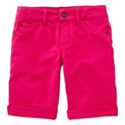 Arizona French Terry Bermuda Shorts - Girls 7-16