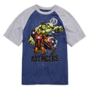 Avengers Raglan Graphic Tee - Boys 8-20