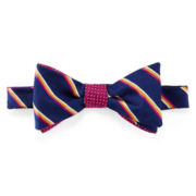 Stafford® Matalee Contrast Pre-Tied Bow Tie