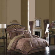 Queen Street® Nottingham Merlot 4-pc. Comforter Set & Accessories