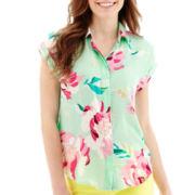 Stylus™ Short-Sleeve Drop-Shoulder Shirt