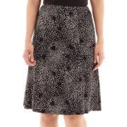 Liz Claiborne® Knit A-Line Skirt