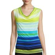 Worthington® Sleeveless Cowlneck Shirt - Tall