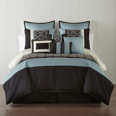 jcpenney.com | Home Expressions™ Carter 10-pc. Comforter Set