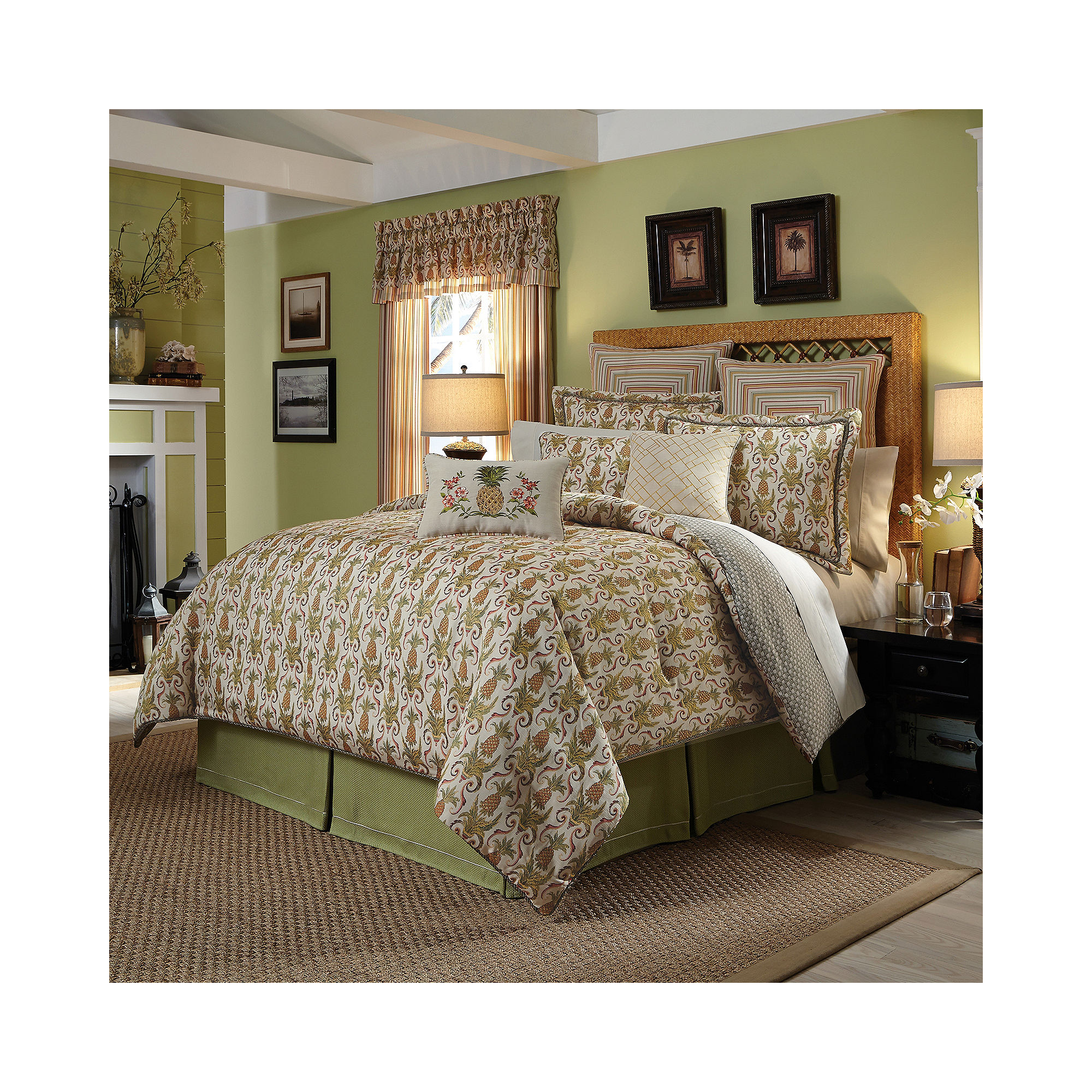 Buy Croscill Classics Bay Breeze 4 Pc Comforter Set Now