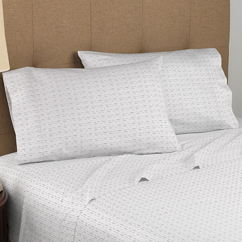 Modern Living 300tc Organic Cotton Dot Sateen Sheet Set