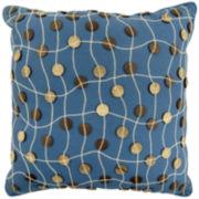 Park B. Smith® Button Square Decorative Pillow