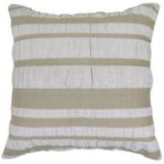 Park B. Smith® Seersucker Stripe Square Decorative Pillow