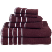 Cambridge Home Rice Weave 6-pc. Egyptian Cotton Bath Towel Set