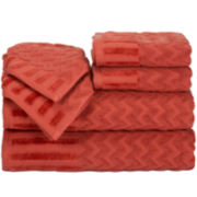 Chevron 6-pc. Egyptian Cotton Bath Towel Set