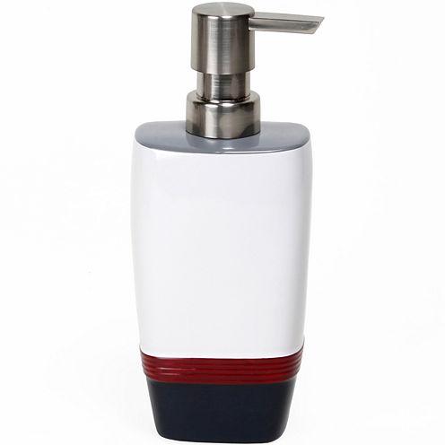 Saturday Knight Evan Stripe Soap Dispenser