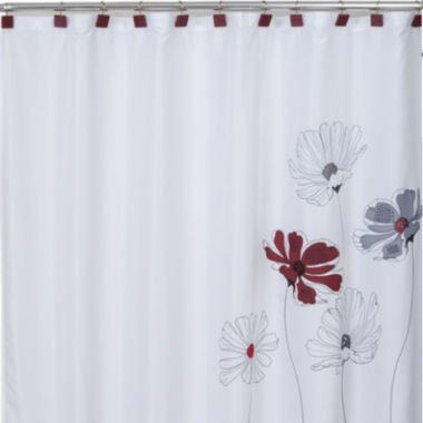 jcpenney.com | Saturday Knight Scarlet Shower Curtain