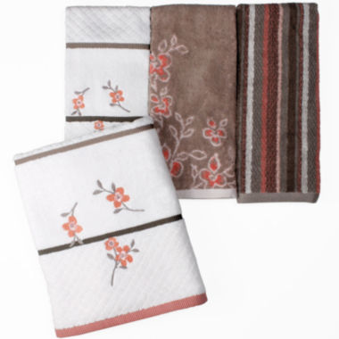 jcpenney.com | Saturday Knight Coral Garden Bath Towel Collection