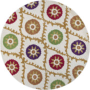 Donny Osmond Harmony by KAS Origins Round Rug