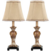 Anabelle Mini Urn Lamp (Set Of 2)