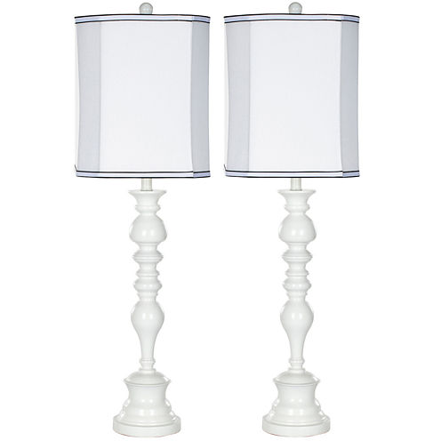 Lara Candlestick Lamp- Set of 2