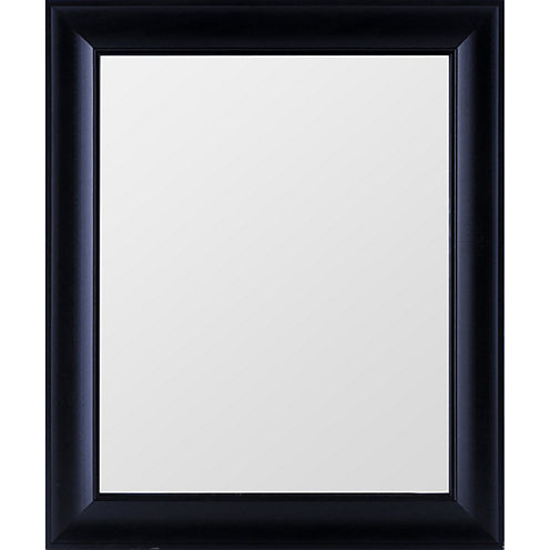 Gallery Solutions Wide Black Mirror