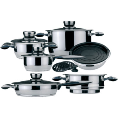 jcpenney.com | BergHOFF® Pride 16-pc. Stainless Steel Cookware Set