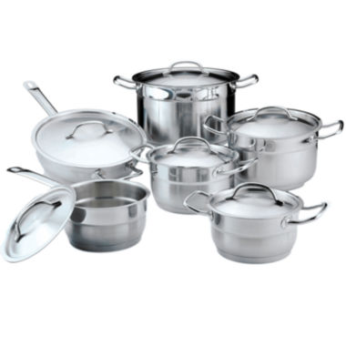 jcpenney.com | BergHOFF® Hotel Line 12-pc. Stainless Steel Cookware Set