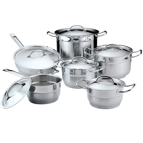 BergHOFF® Hotel Line 12-pc. Stainless Steel Cookware Set