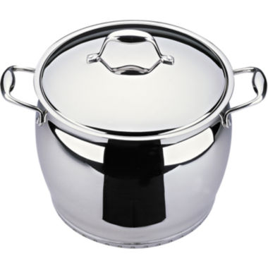 "jcpenney.com | BergHOFF® Zeno 10"" Stainless Steel Stockpot"