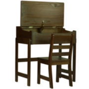 Youth Slant-Top Desk with Chair