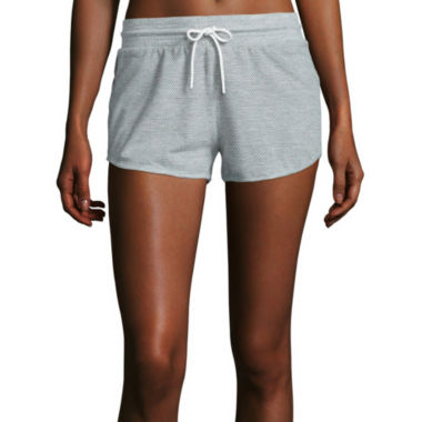 jcpenney.com | Reebok® Elements Placed Mesh Shorts
