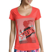 Xersion™ High Low Graphic Tee