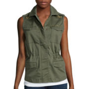 a.n.a® Studded Military Vest