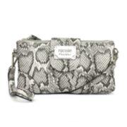 nicole by Nicole Miller® Marie Triple-Pouch Wristlet Crossbody Bag