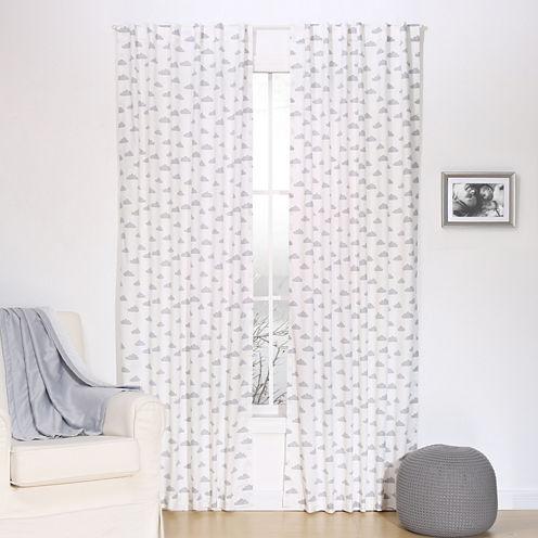 The Peanut Shell Mix And Match Rod-Pocket Curtain Panel