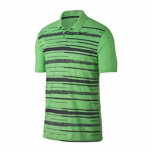 Nike Essential Grfx Short Sleeve Pattern Polo Shirt