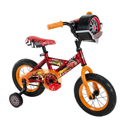 Huffy Disney Cars 12In Bike with Race-Ready Tire Case