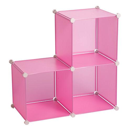 Honey-Can-Do® 3-pc. Modular Storage Cubes