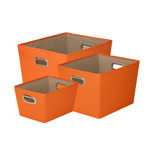 Honey-Can-Do® 3-pc. Decorative Storage Bin Set