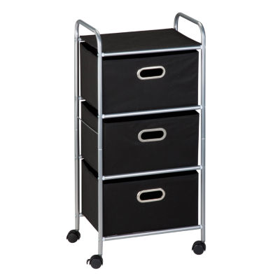 Honey Can Do® 3 Drawer Rolling Storage Cart