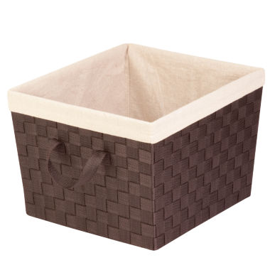 jcpenney.com | Honey-Can-Do® Large Woven Basket with Liner