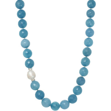 jcpenney.com | ROX by Alexa Genuine Aquamarine Beaded Necklace