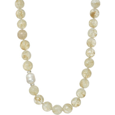 jcpenney.com | ROX by Alexa Rutilated Quartz Beaded Necklace