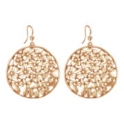 dom by dominique cohen Gold-Tone Cubic Zirconia Wildflower Earrings