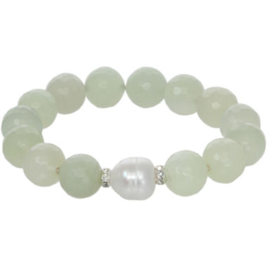 jcpenney.com | ROX by Alexa Genuine Green Jade Stretch Bracelet