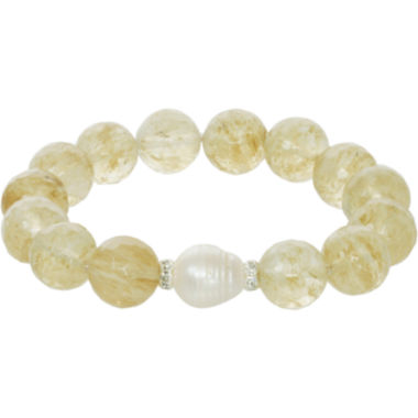 jcpenney.com | ROX by Alexa Quartz & Cultured Freshwater Pearl Bracelet