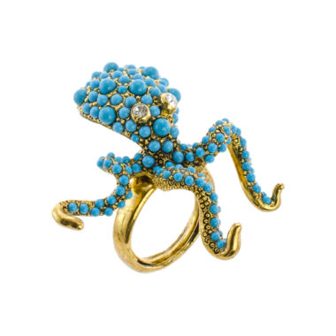 jcpenney.com | KJL by KENNETH JAY LANE Simulated Turquoise Octopus Ring