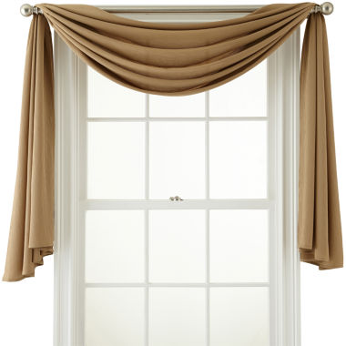 jcpenney.com | Royal Velvet® Ally Window Scarf Valance