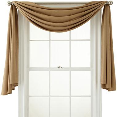 Window Treatment jcpenney valances window treatments : Royal Velvet Ally Window Scarf