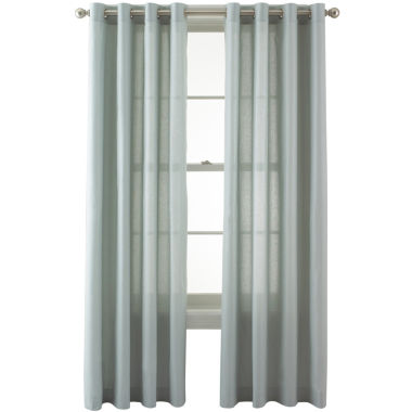 jcpenney.com | Studio™ Pearl Metallic Grommet-Top Curtain Panel