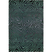 Nourison® Fun Maze High-Low Carved Rectangular Rugs