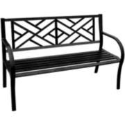 Vine Steel Park Bench
