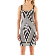 Worthington® Sleeveless Print Dress